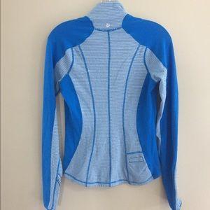 Lululemon Bright blue half zip pullover sweater 6